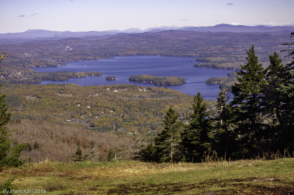 Hiking Mt. Sunapee in Newbury, NH