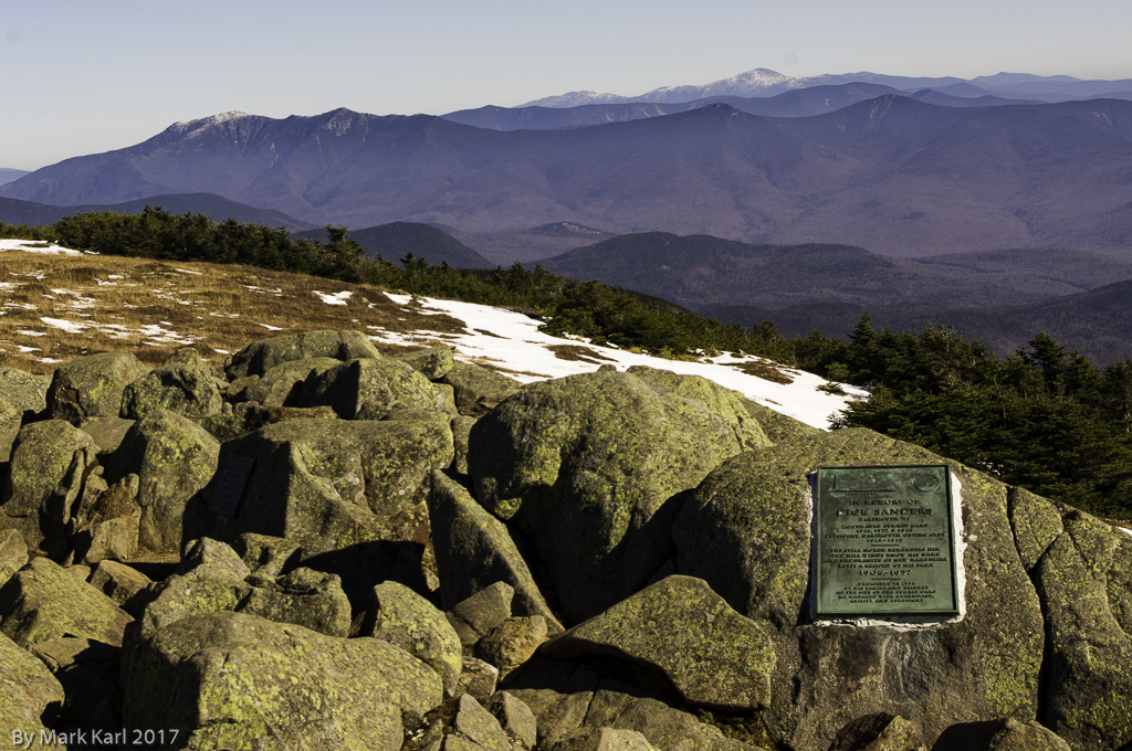 View of Franconia Ridge from Mt. Moosiluake